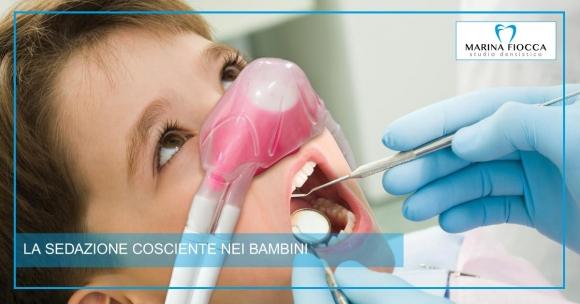 Studio Dentistico Marina Fiocca - Sedazione nei bambini