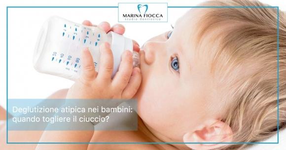 Studio Dentistico Marina Fiocca - togliere il ciuccio