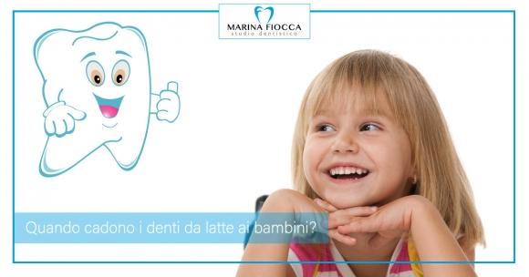 Studio Dentistico Marina Fiocca - Denti da latte